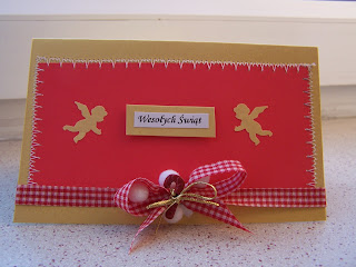 Christmas cards - red&gold 4