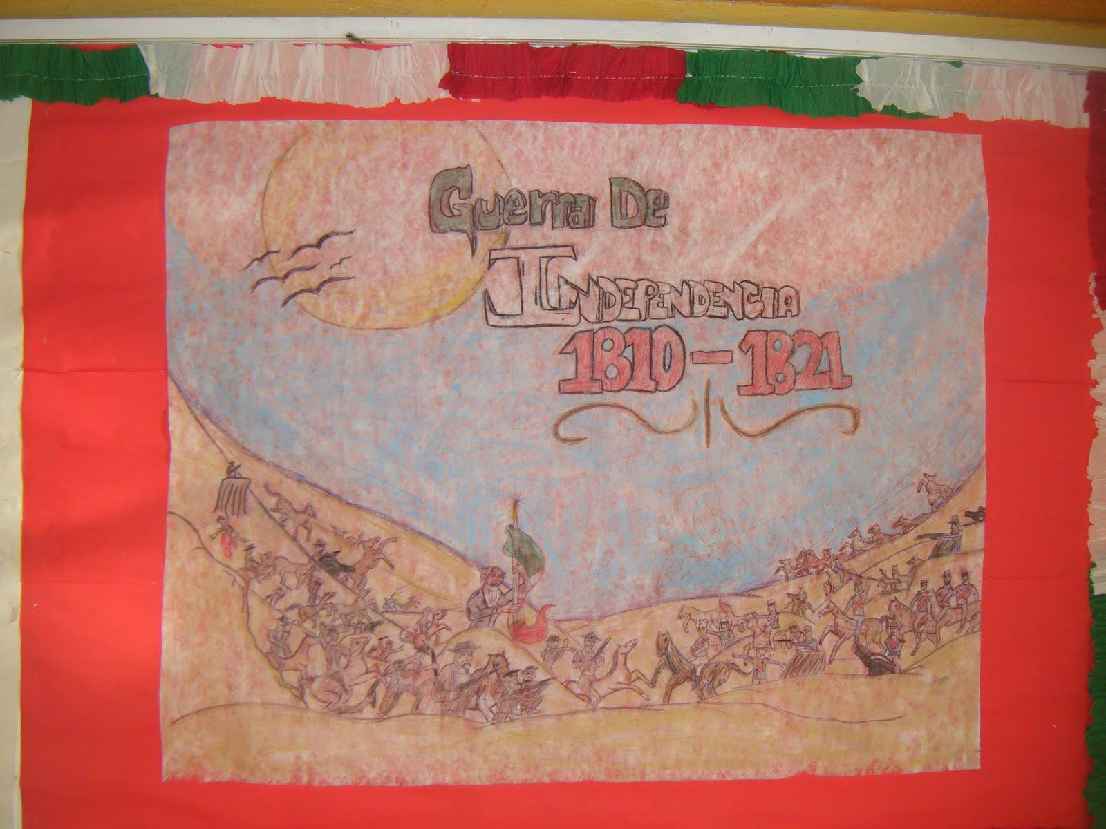 "Esc. Sec. Quetzalcoatl ADT: Periódico Mural Septiembre ""Bicentenario"""