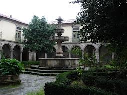 Visita a um mosteiro
