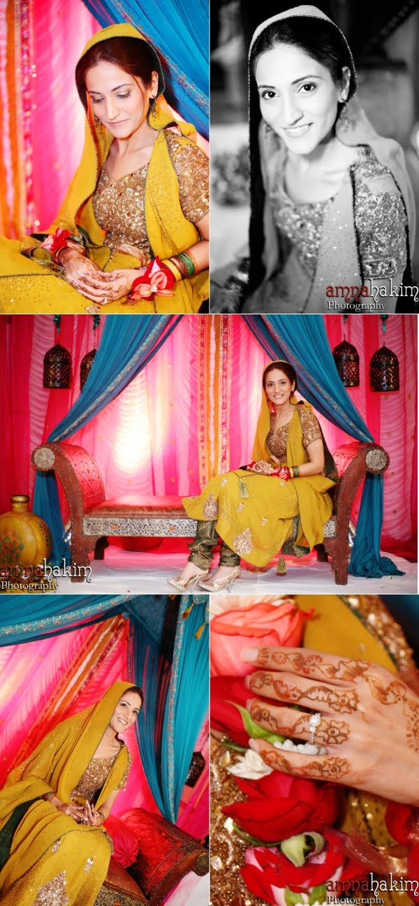 Real Bride: Three Looks, One Gorgeous Bride from Amna Hakim Photography