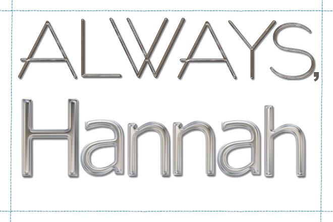 Always, Hannah