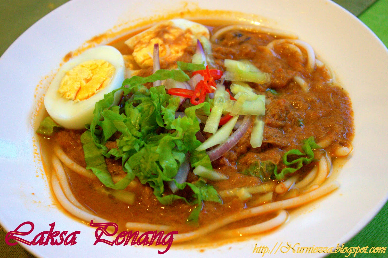 Our Journey Begins: Laksa Asam/Laksa Penang Part 2