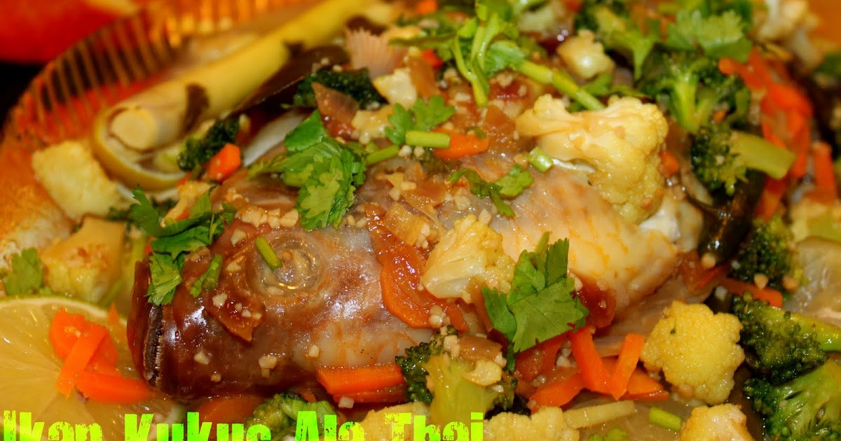 Our Journey Begins: Ikan Kukus Ala Thai