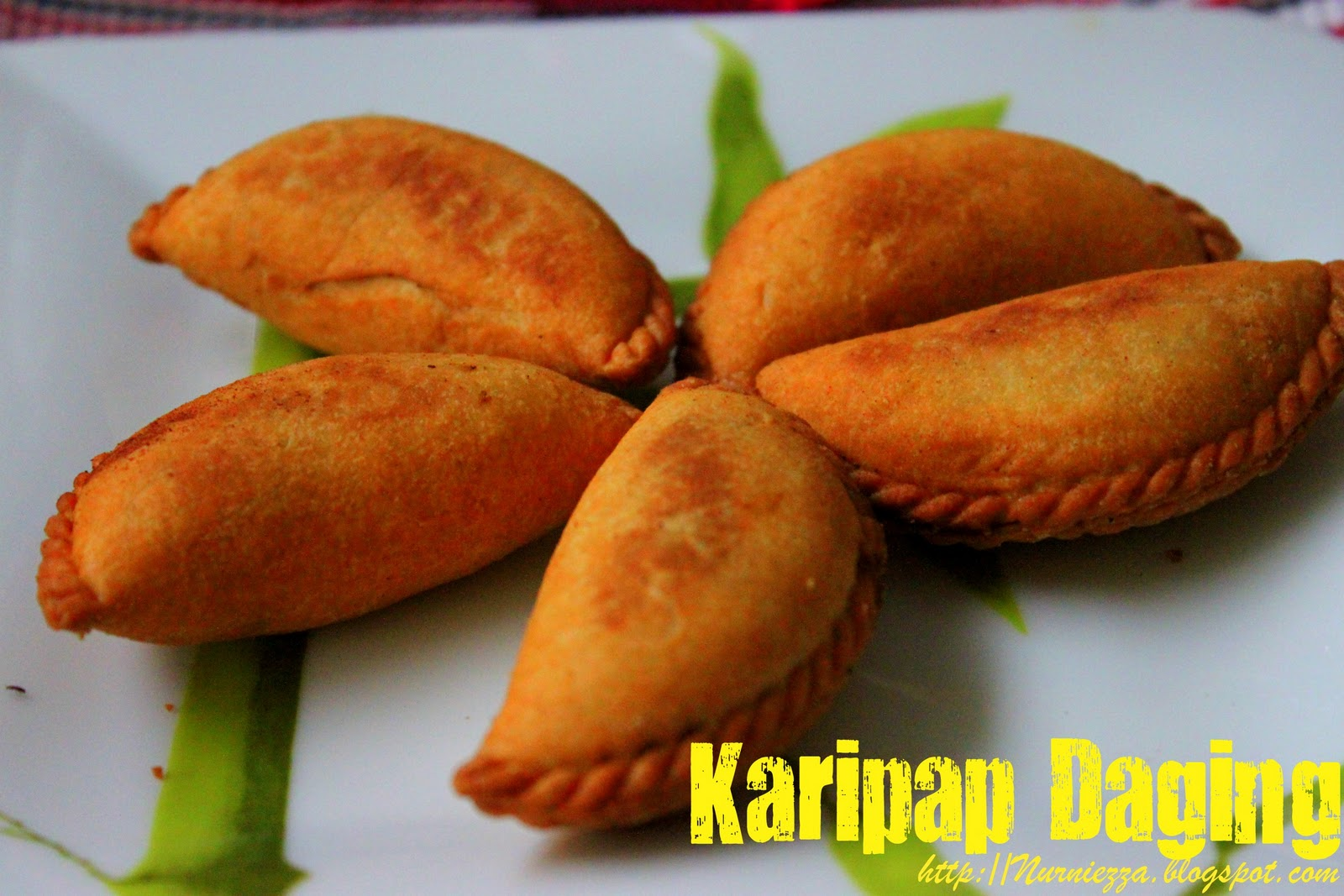 Our Journey Begins Karipap Daging