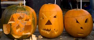 Zane's, Darian's & Emily's pumpkins