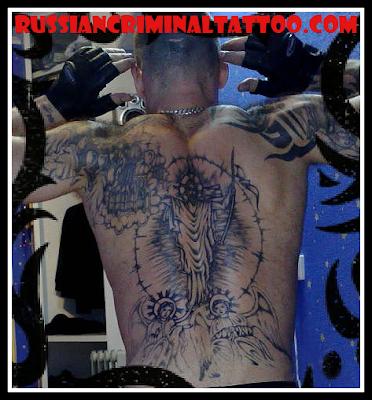Russian prison tattoo.