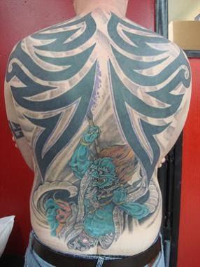 Back Tribal Tattoo