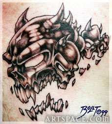 Skull Tattoo Designs Gallery 1