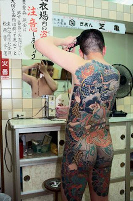 Japanese Tattoo Gallery on Back Body Man