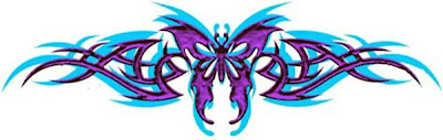 Feminine Tattoos Design With Image Butterfly Tattoo Designs On The Lower Back Picture 5