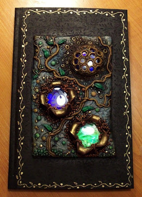 polymer clay, journal