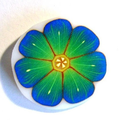 polymer clay flower cane