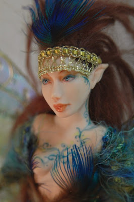 polymer clay, fairy