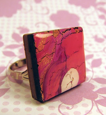 polymer clay and resin jewelry