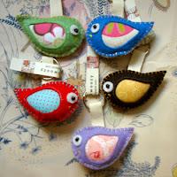 Birdie Keychains