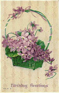 violets 03 745062 Violetas estilo Vintage para decoupage para crianças