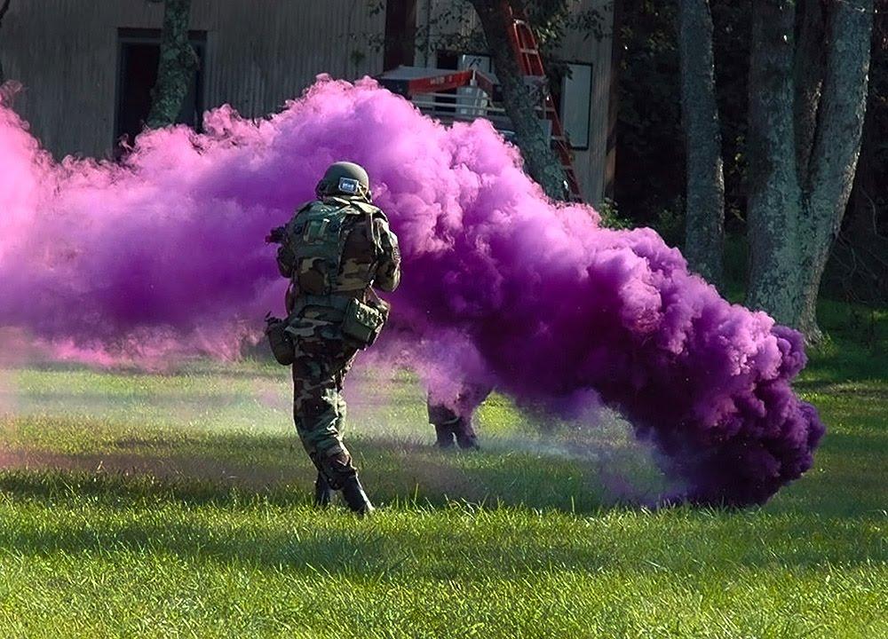 Potassium Nitrate Smoke Bomb Color The Typical Colored Smoke Bomb
