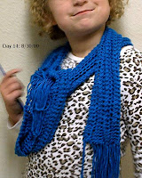 Silky Lace Scarf
