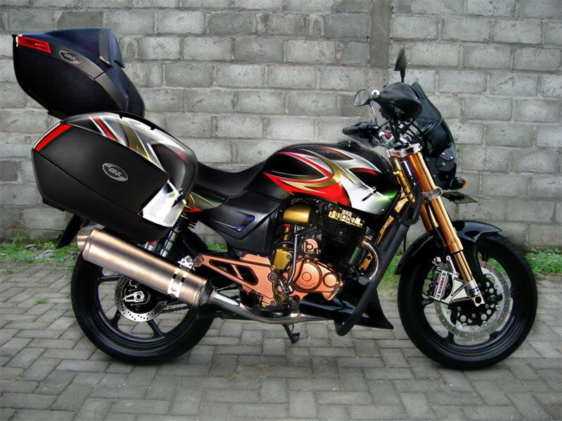 Motor Modification Honda Tiger