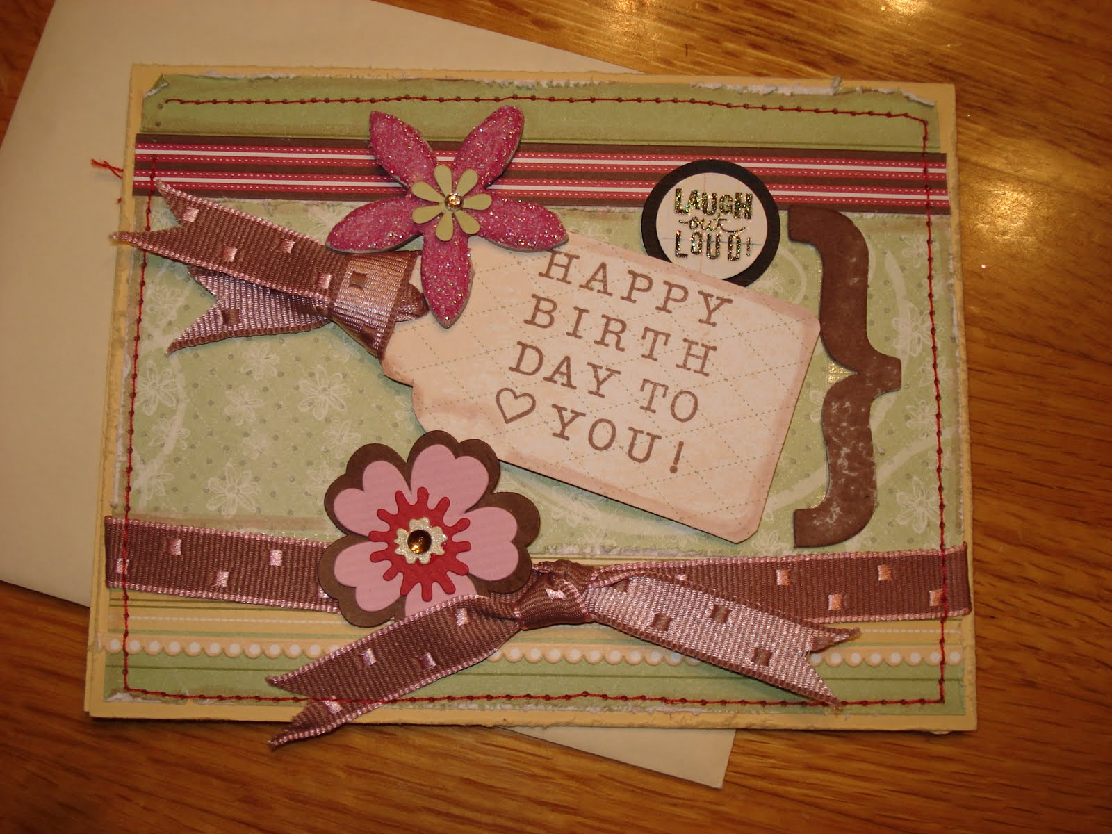 marias handmade cards: Happy birthday handmade card idea