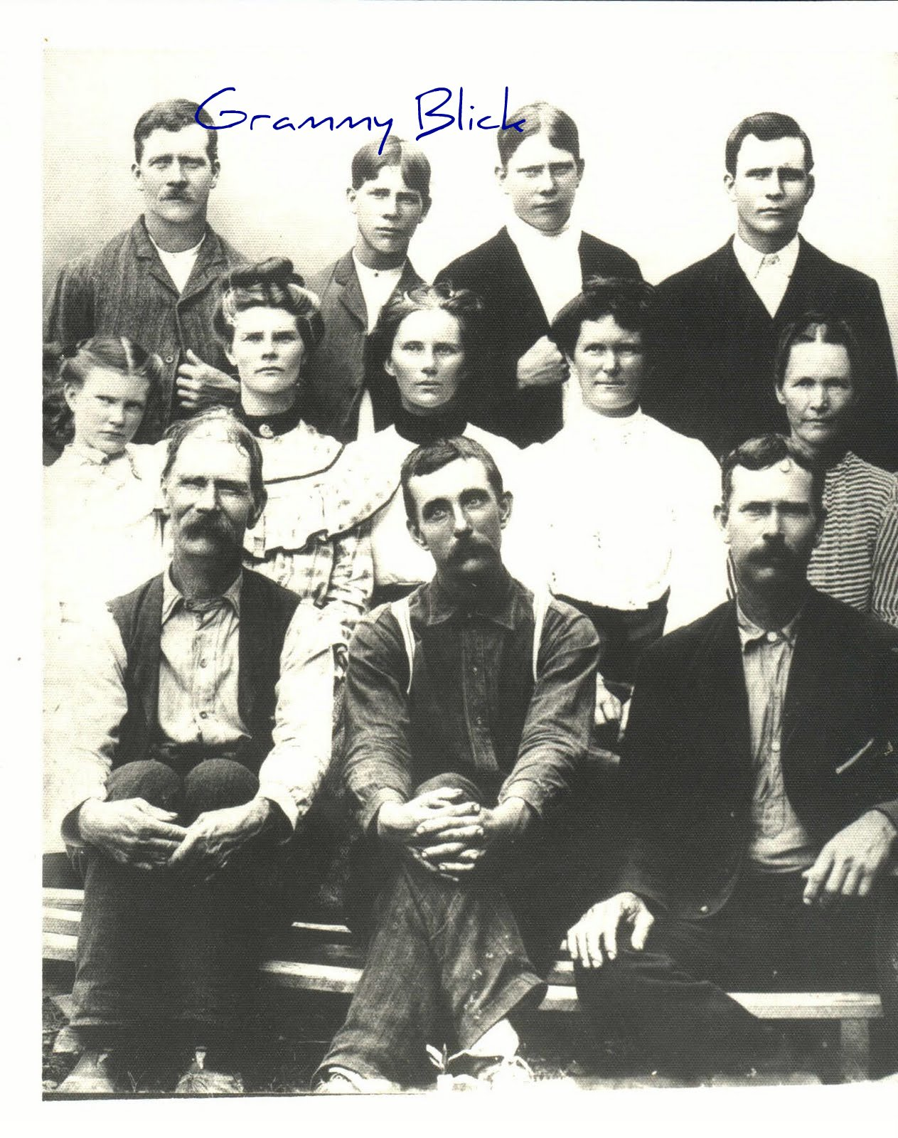 grammy blick s family workbook sion holley and family sion holley 1830 1909 and family
