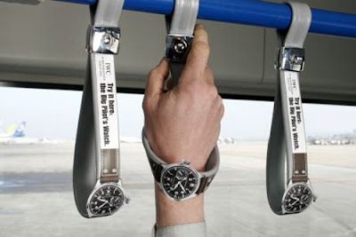Creative advertising - watches