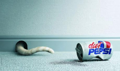 Creative Pepsi ads - Diet Pepsi