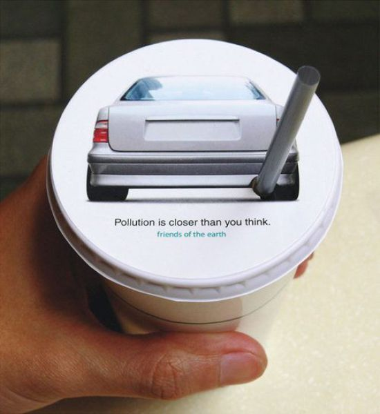 Pollution Creative Advertising