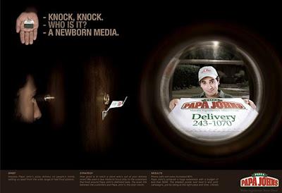Funny Pizza ad
