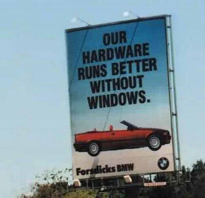 Funny bmw ad