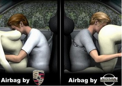 Airbags funny advertisement