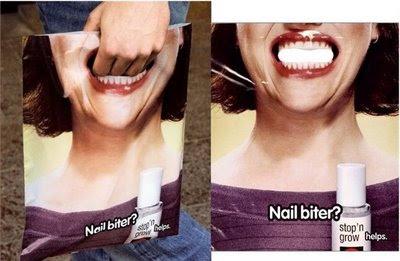 Nail bitter advertisement