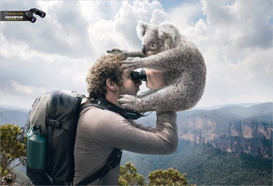 Funny ads: Olympus optical zoom