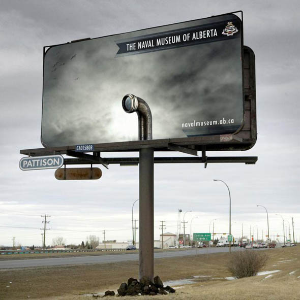 The Naval Museum Of Alberta Creative Billboard