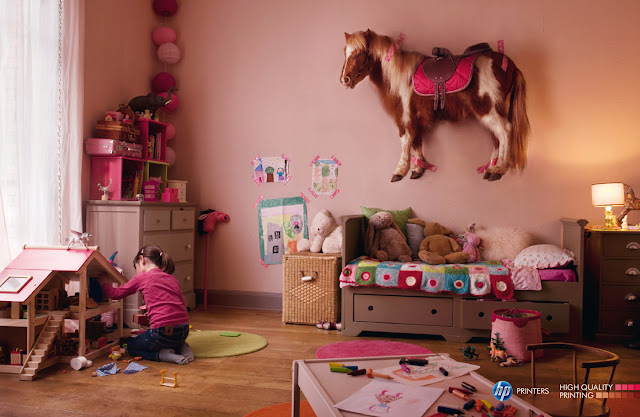 HP printers ads - Pony