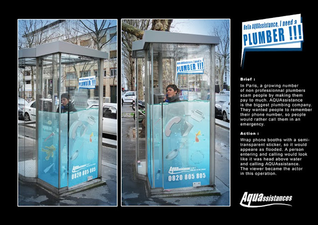 AQUAssistance Plumber sticker advertisement