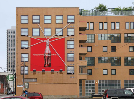 Creative Coca Cola outdoor ads