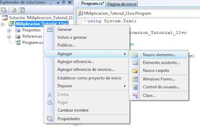 crear una clase en C#