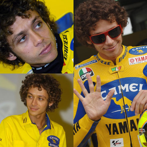 valentino rossi. Valentino Rossi returned to