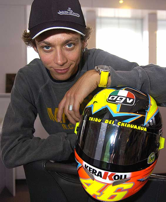 valentino rossi. Valentino Rossi is fully aware