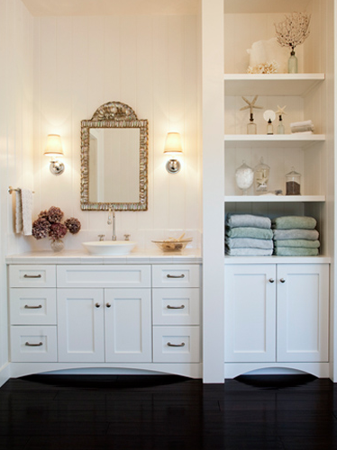 Wicker Stitch Bathroom Vanities