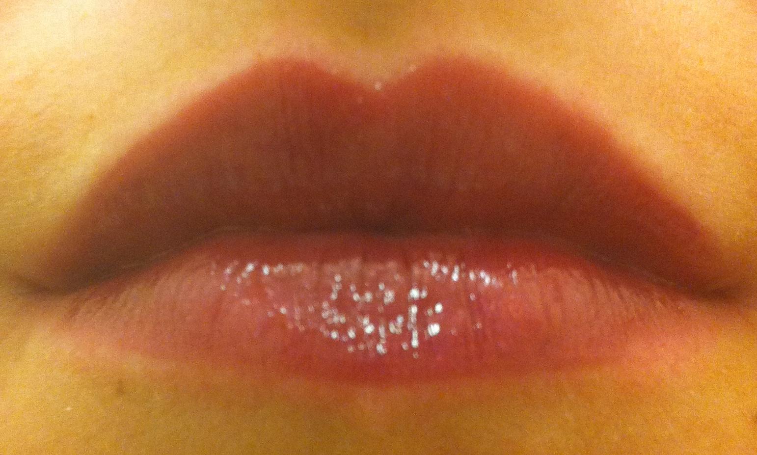 "swatches galore!: black radiance illusions lip gloss in ""posh plum"""