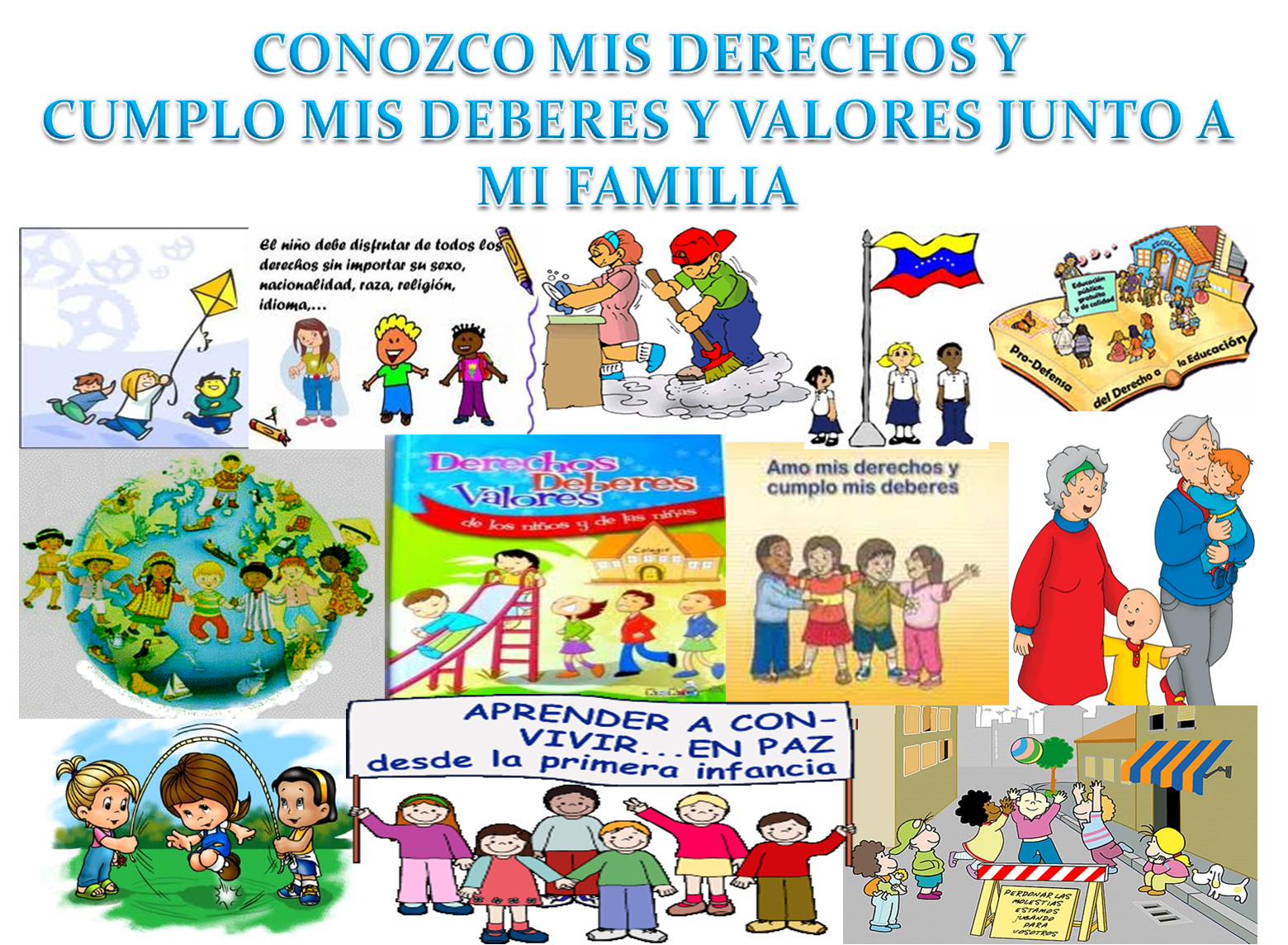La Paz Violencia Infantil Y Los Derechos Deberes De Niños Pictures