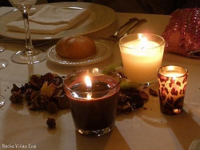 Nosotros espera autor ang la hojas de oto o c ceres - Cena romantica con velas ...
