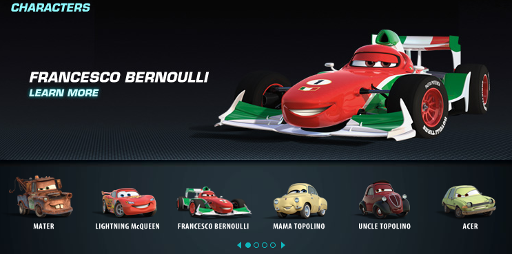 A113Animation: Exclusive: New Cars 2 Characters
