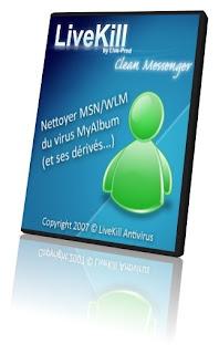 Portable Livekill Clean Messenger RC3 (Buil 1256), Limpia tu messenger de Infecciones WindowsLiveMessengerLogo