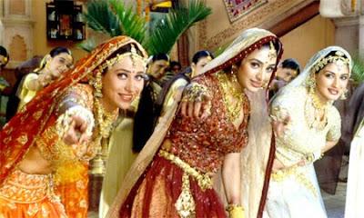 Hum Saath Saath Hain Dress Designs