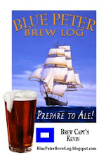 Blue Peter Brew Log