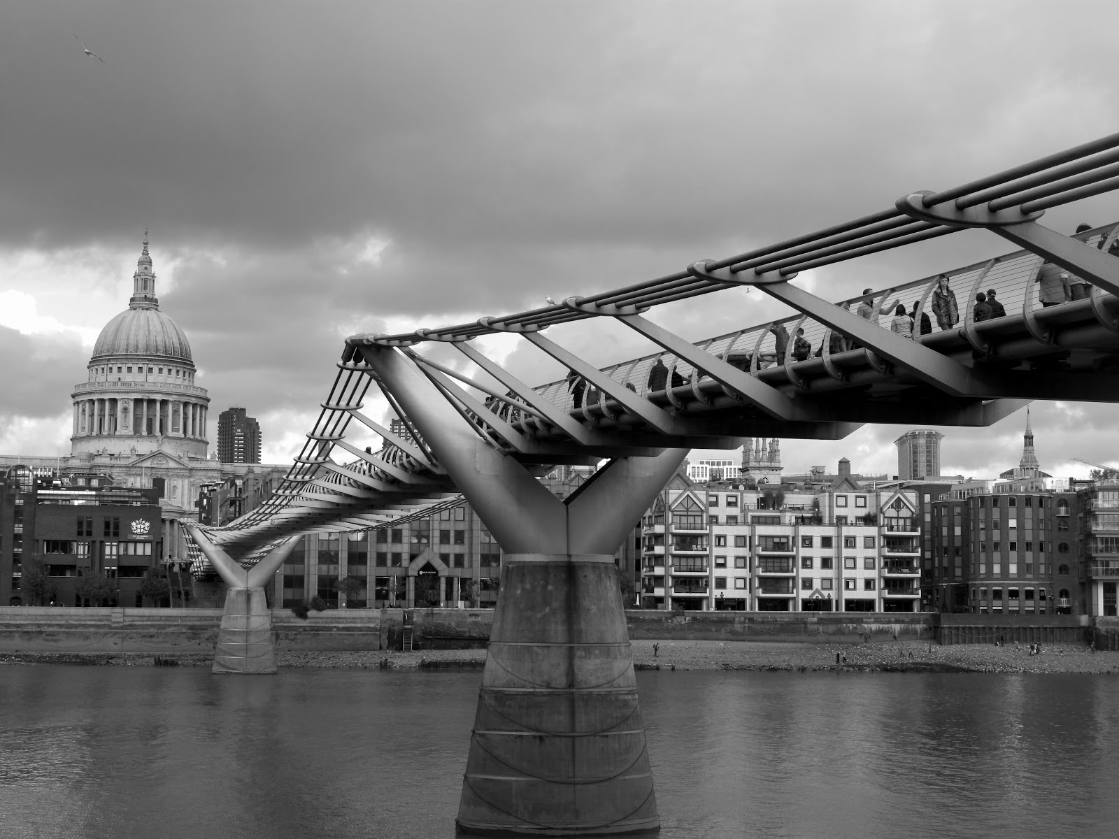 Sarah 2010 A Photo A Day Millenium Bridge London