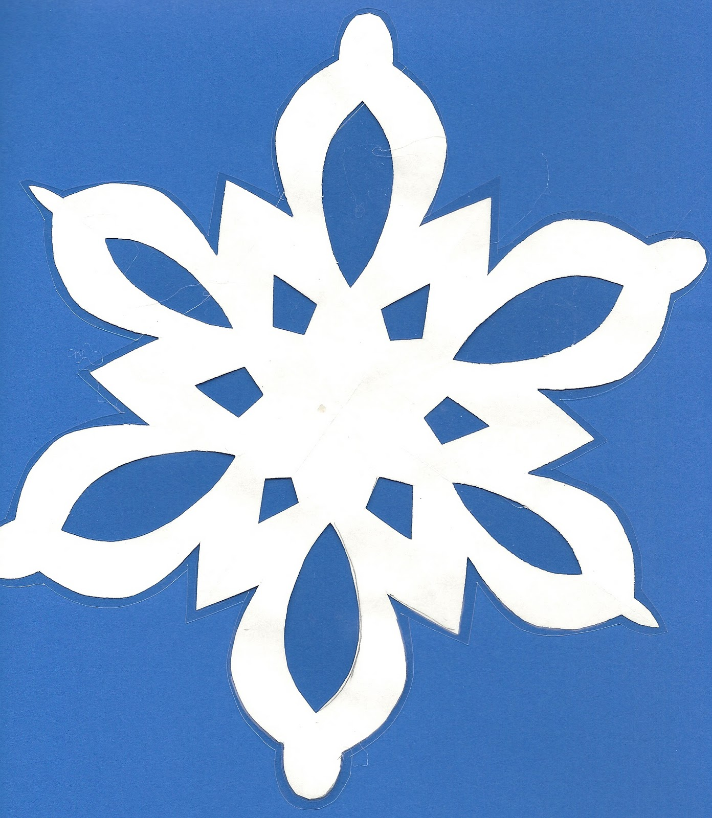 Paper Snowflakes Decorations Printable Snowflake Patterns To Cut Out